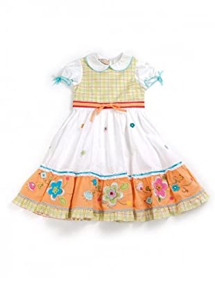 My Doll Kleid (weiß/grün/blau/orange/rot)