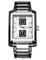 Kenneth Cole Analog Silver Dial Men's Watch IKC3781