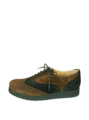 Za-patitos Zapatos Bicolor (Marrón / Negro)