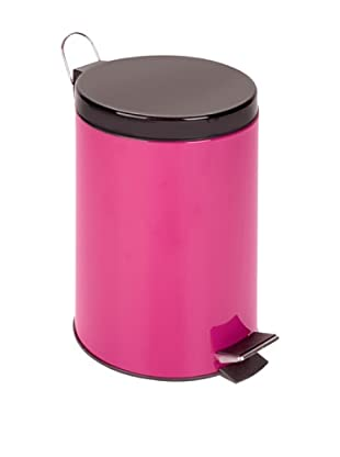 Honey-Can-Do 12L Step Trash Can, Magenta