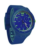 Swatch Originals Analog Blue Dial  Unisex Watch - SUSN400
