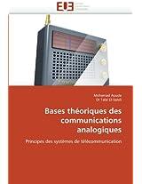 Bases Theoriques Des Communications Analogiques (Omn.Univ.Europ.)