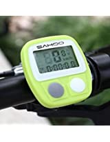 SAHOO 14 Functions Waterproof Bicycle Computer Odometer Speedometer