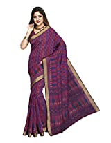 Suhanee Cotton Saree (Suhagan - 1012 _Purple)