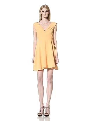 Z Spoke Zac Posen Women's V-Neck Dress (Goldenrod)