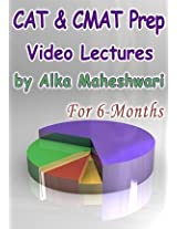 CAT And CMAT Video Lectures By Alka Maheshwari (6 Month) Single User
