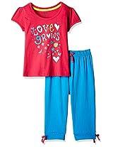 Cherokee Girls' Pyjama Set