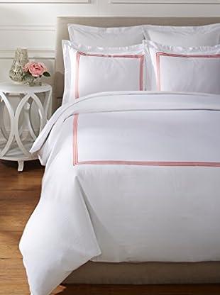 Westport Linens 3 Line Embroidery Sateen Duvet Set