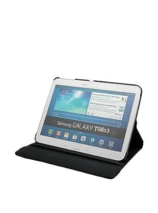 Unotec Funda Polipiel Rotación Galaxy Tab3 10 Pulgadas Negro