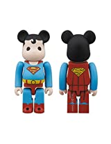 2013 SDCC EXCLUSIVE Bearbrick DC Super Powers Superman Action Figure