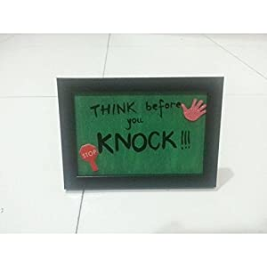ART BEAT THINK BEFORE YOU KNOCK