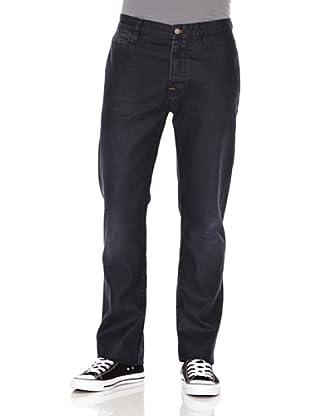 Nudie Jeans Pantalón Khaki Regular (Gris oscuro)