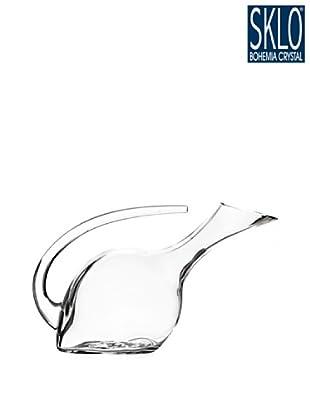 Cristal de Bohemia Decantador Con Asa 1250 Ml Gris