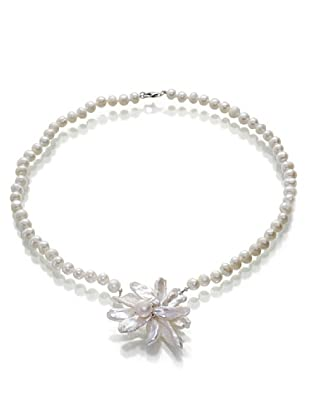 Orchira Collar Floral Odyssy Blanco