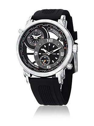 Stührling Uhr mit Schweizer Quarzuhrwerk Renegade  schwarz 47 mm
