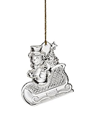 Marquis By Waterford 2014 Annual Snowman Ornament