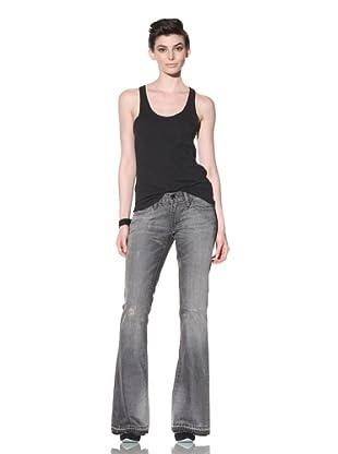 Workcustom Women's Gidget Flare Jeans (Black Riviera)