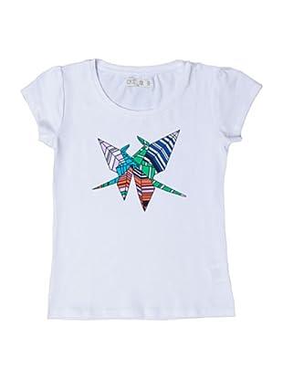 CKS Camiseta Casual (Blanco)