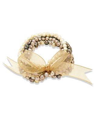Valero Pearls 60200114 - Pulsera de mujer de plata con perla cultivada de agua dulce, 19 cm