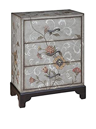 Luxury Home Artisan Suzani 3-Drawer Accent Chest, Multi