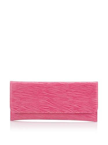 Carlos Falchi Women's Zebretta Clutch (Pink)