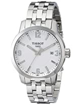 Tissot White Dial Analogue Watch for Men (T0554101101700)