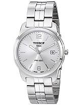 Tissot PR-100 Analog Silver Dial Men's Watch T0494101103701