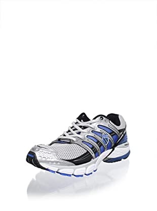 K-Swiss Men's Konejo II Running Shoe (Silver/Black/Brilliant Blue)