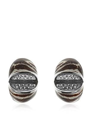 Lágrimas Negras Ohrringe Sterling-Silber 925