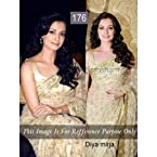 DIYA MIRJA BOLLYWOOD REPLICA SAREE BY BOLLYWOODTRENDZ 176