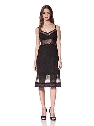 Nina Ricci Women's Tweed Camisole Dress (Lilac Grey Tweed)