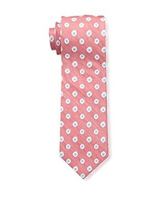 Bruno Piattelli Men's Flower Neat Silk Tie, Red