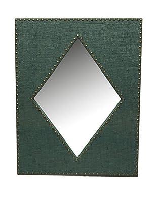 Novità Home Wandspiegel Rhombus grün
