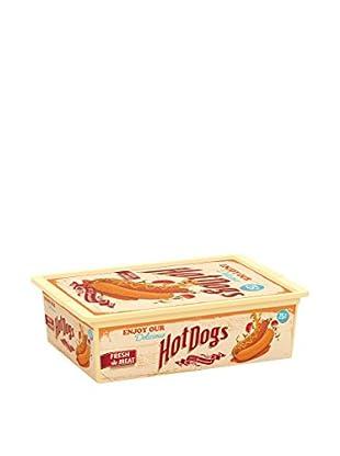 KIS Set Cajas 6 Piezas C-Box Style L Beige / Multicolor