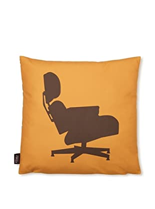 Inhabit 1956 Pillow (Sunshine/Chocolate)