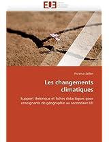 Les Changements Climatiques (Omn.Univ.Europ.)