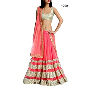 Get Style At Home Lehenga with Dupatta - Pink