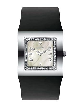 K&BROS 9153-1 / Reloj de Señora  con correa de piel negro