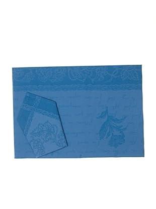 La Bruja Mantelería Rioja (Azul)