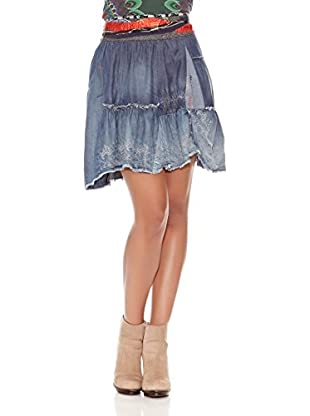 Desigual Falda Menorca (Denim Claro)
