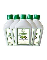 Bhumija Lifesciences Noni Juice (Sugar Free) 1 L (Combo Pack of Five)