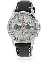 Fs4886 Black/Gun-Metal Chronograph Watches