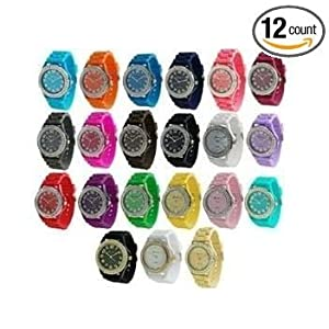 Wholesale Lot of 12 Geneva Platinum Women's 6886