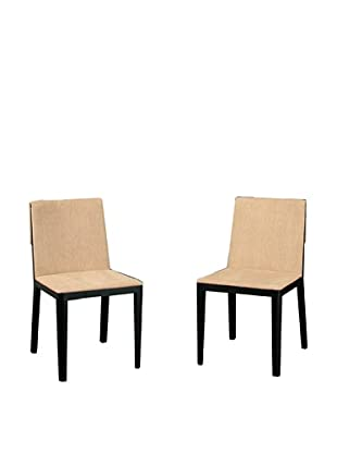 Abbyson Living Set of 2 Bradford Dining Side Chairs