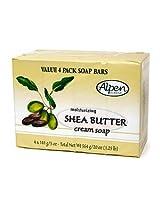 Alpen Secrets Goat Milk Moisturizing Soap Bars 20 Oz Shea Butter 4 Ea