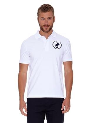 Polo Club Polo Classic Liso Logo Big (Blanco)