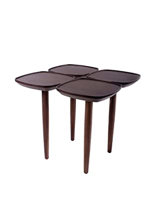 Control Brand Petal Side Table, Walnut