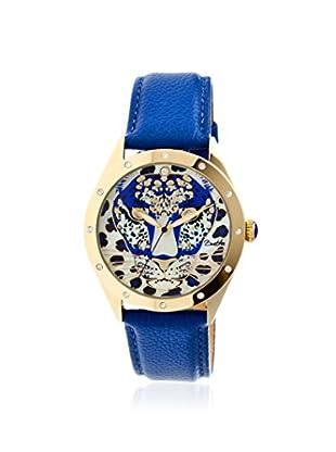 Bertha Women's BR4706 Alexandra Blue/Multicolor Leather Watch