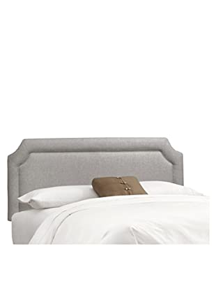 Skyline Notched Headboard (Grey)