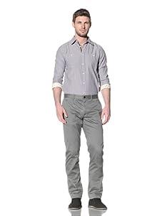 Just A Cheap Shirt Men's Freddy Chino Pants (Grey)